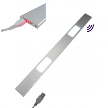 Aluminum Low Profile Wireless Battery Cabinet Lights