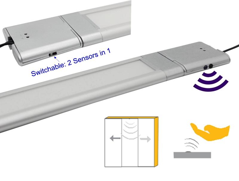 12V 10W Kitchen Cabinet Infrared Sensor Over Counter Lights