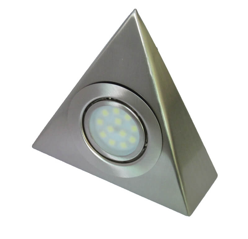 Warm White Surface Recessed Mounting Triangle Cabinet Puck Lights