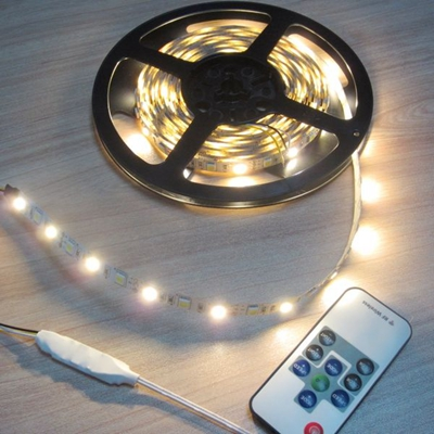 Hot Sale 12V 24V LED strip light single colors and RGB