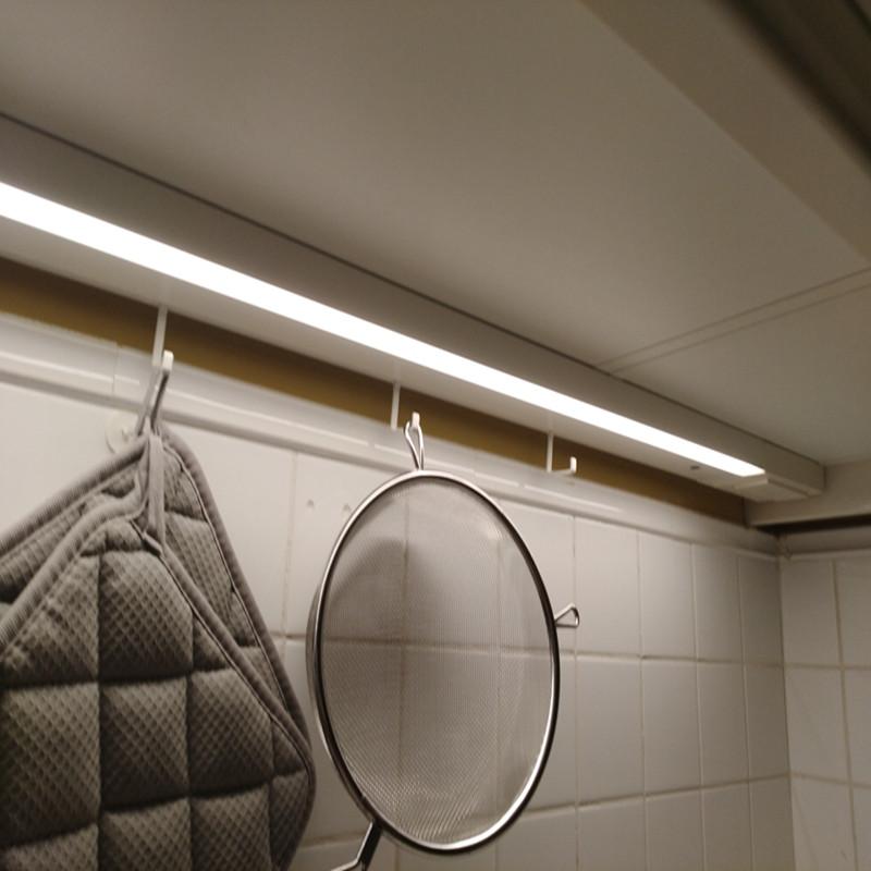 Indoor ultra thin 8mm slimming led door sensor cupboard light