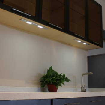 Ultra Thin Rechargeable Battery Powered Magnetic Wireless Led Under Cabinet Lighting