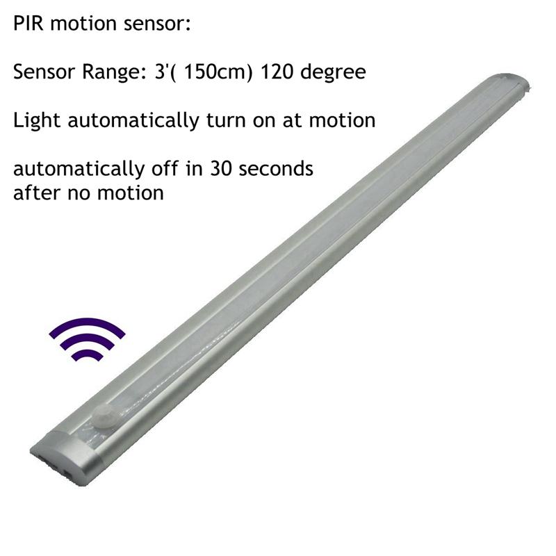 PIR sensor light