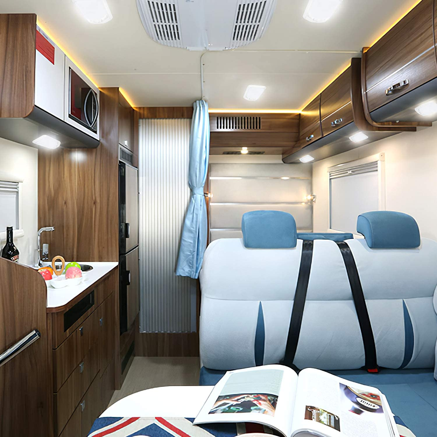 do you have any tips about rv interior lighting?