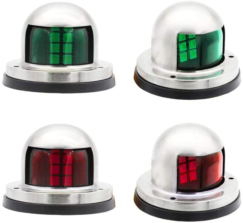 12v Marine Boat Yacht Navigation Lights 12V Vehicles Led clearance/marker light Marine Sailing Signal Bulb