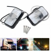Car Trailer Truck Side Marker Indicator Light LED Vehicle Boat Side Strobe Emergency/Warning/Clearance/Marker Light