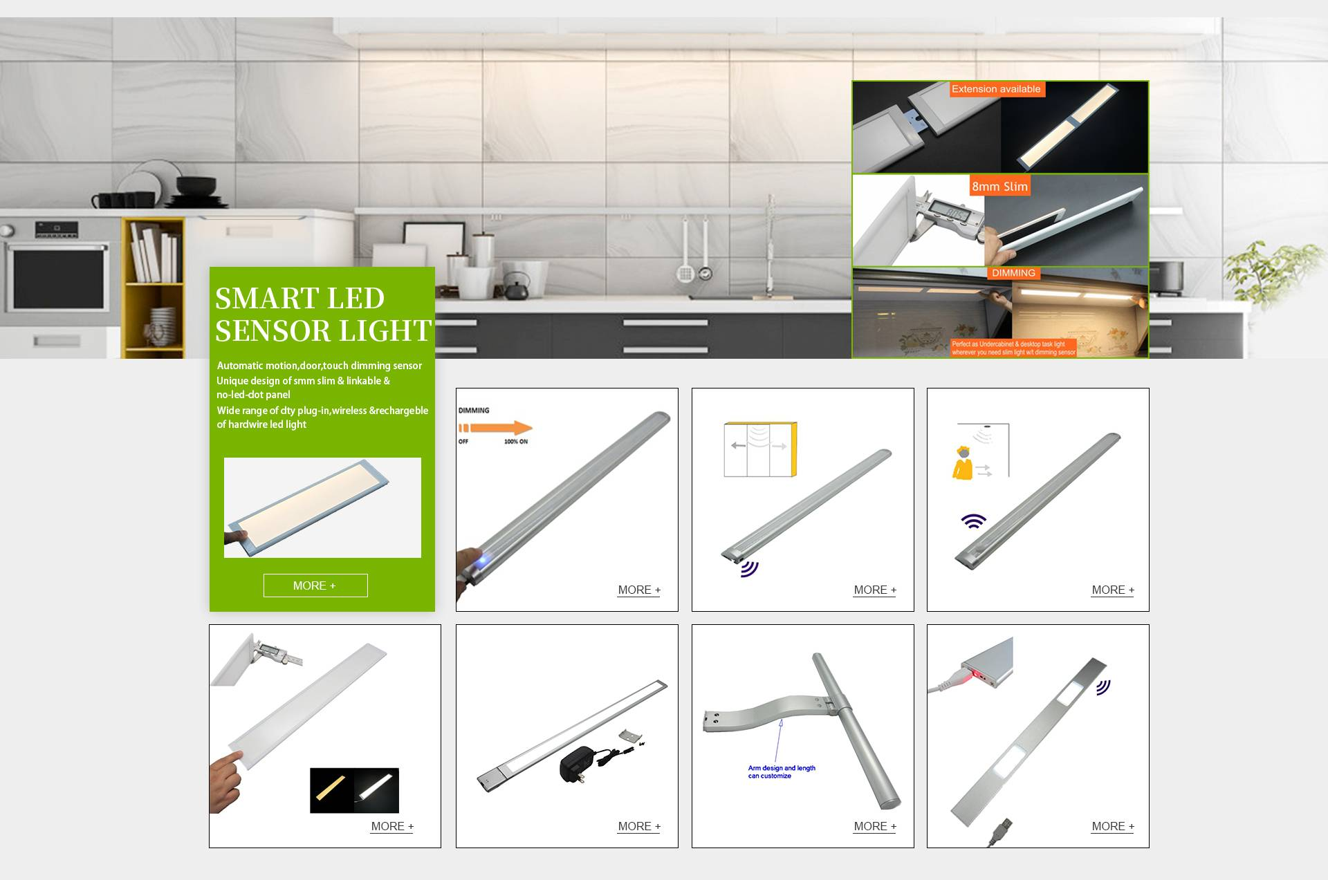 Why We Suggest LEDs for Under Cabinet Lighting?
