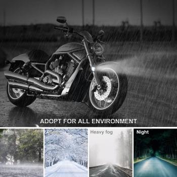 3 Led Modes 9-80V 40W Fog Light Motorcycle Mini Drivingoff Road Vehicle Truck Led Fog Driving Lights