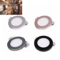 Ultratin 8mm 12V Magnet Surface Mount RV Caravan Under Cabinet Puck Light