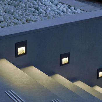 Outdoor Waterproof 3W LED Steps Light LED Wall light
