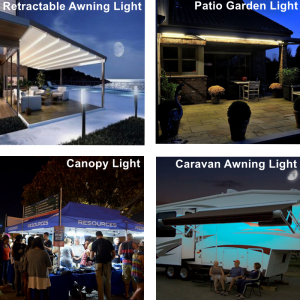 Do You Need LED Lighting for Your Patio Canopies and Awnings ?