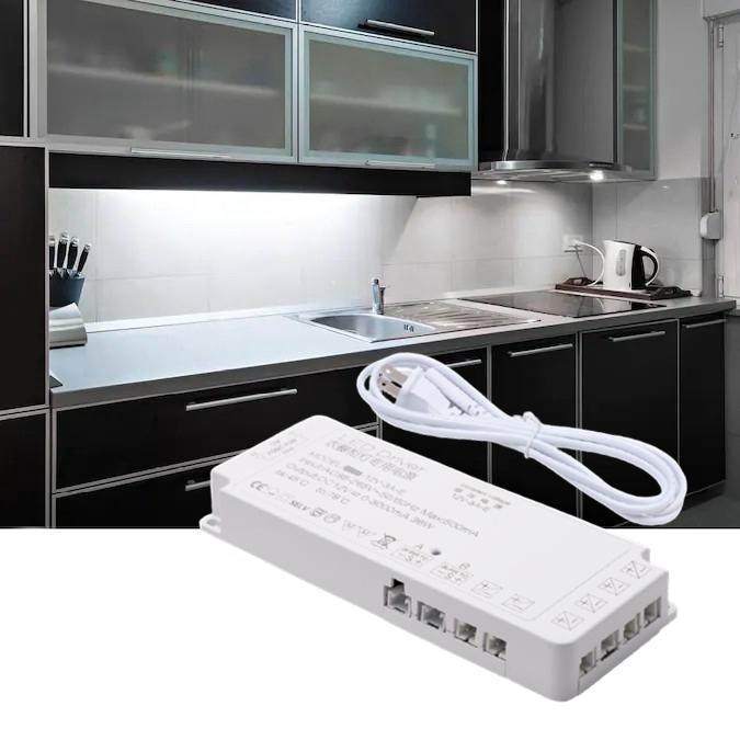 AC 85-265V DC12V Power Adapter Cabinet Wardrobe Closet Lighting LED Driver